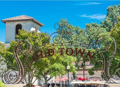 Historic Downtown Los Gatos, California