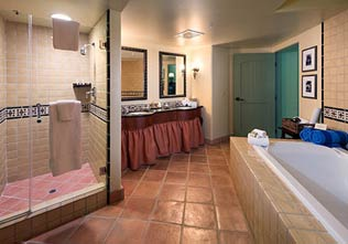 Hotel Los Gatos, California Bathroom