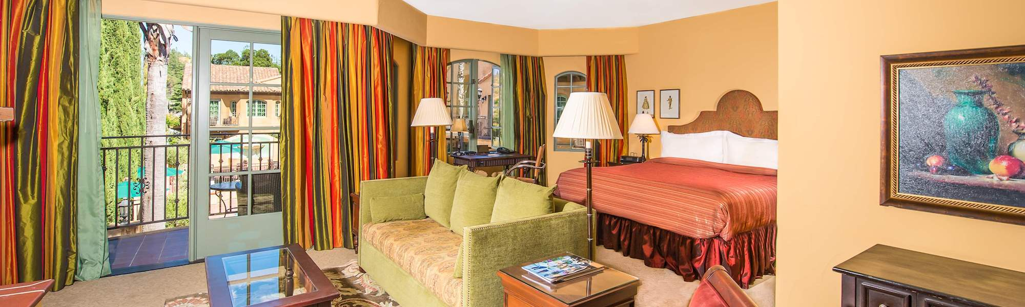 Rooms at Hotel Los Gatos