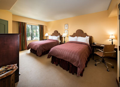 Deluxe Room With Two Double Beds at Hotel Los Gatos