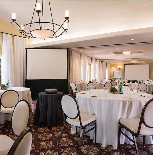 Comfortable and Spectacular Meeting Spaces at Los Gatos Hotel